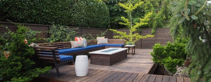 designer-approved backyard
