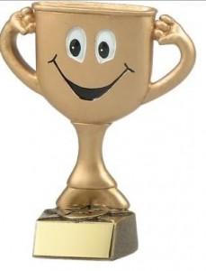 happy trophy
